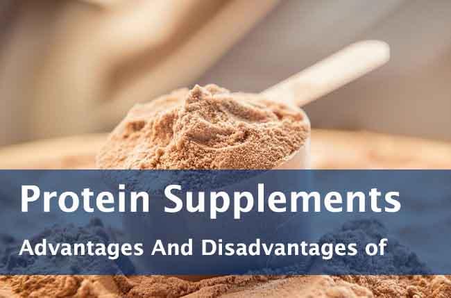 advantages disadvantages of protein powder