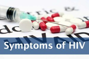 symptoms of HIV