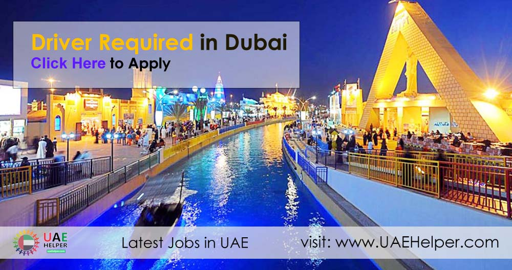 Drivers Required in Sharjah & Dubai - UAEHelper com