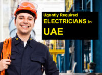 electrician jobs dubai