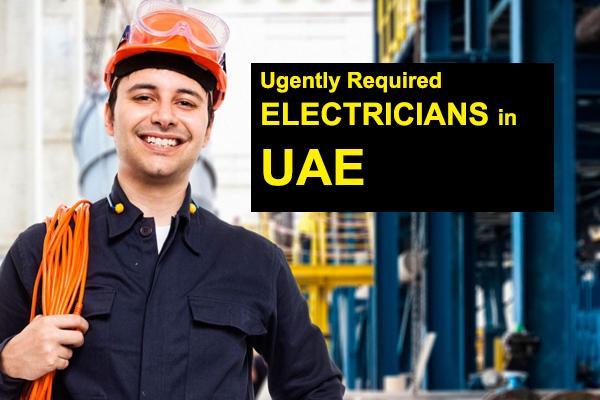 electrician jobs dubai