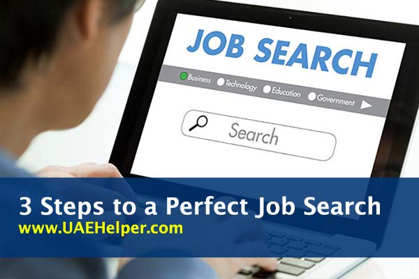 3 steps to a perfect jobs search