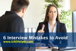 6 Job Interview Mistakes to Avoid