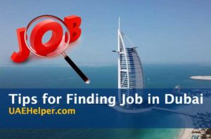 Tips for Searching for a Job in Dubai
