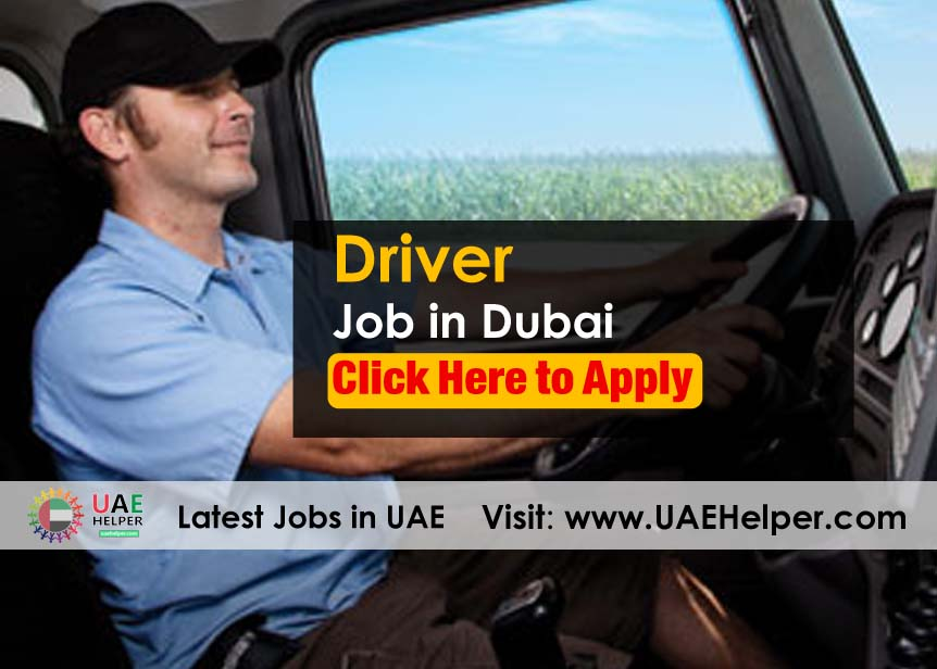 driver jobs in Dubai - driving jobs uaehelper.com