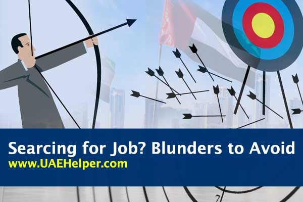 Looking for Jobs in the UAE: Avoid these Blunders
