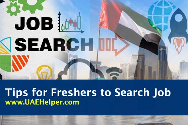 tips for freshers to search job in Dubai