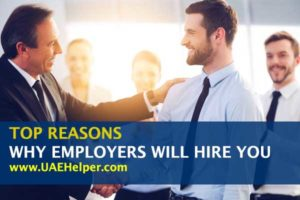top reasons why employers will hire you