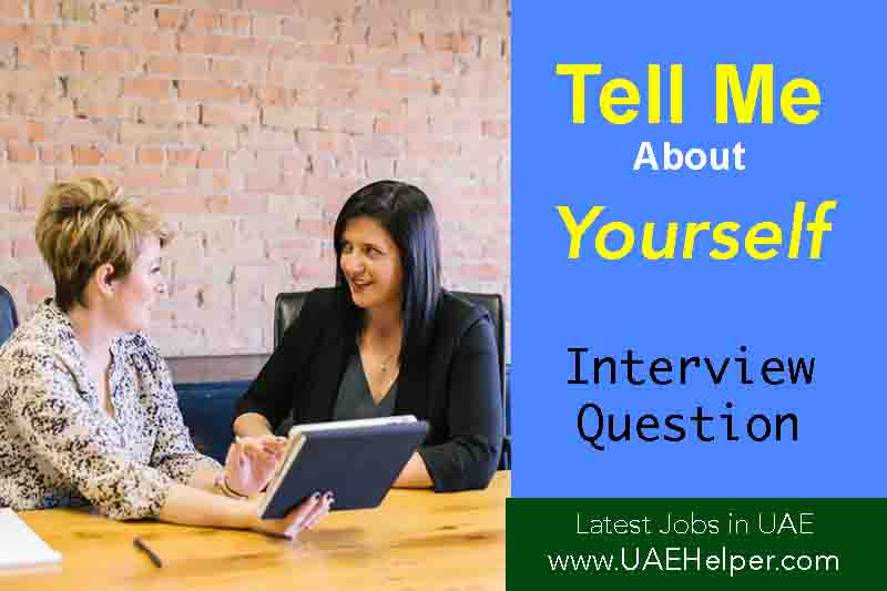 tell me about yourself interview question
