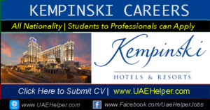 Kempinski Careers Jobs in Kempinski Hotel