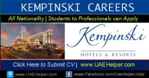 Kempinski Careers Jobs in Kempinski Hotel