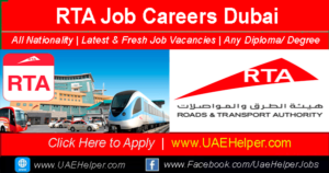 RTA Job Careers in Dubai