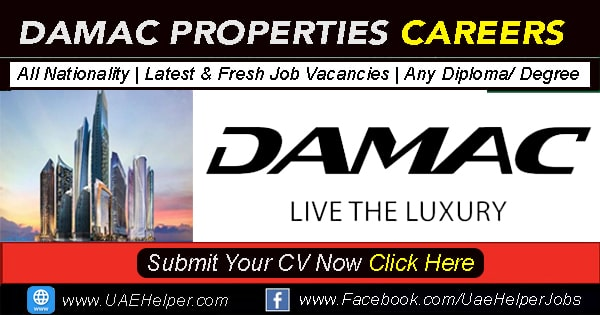 Damac Careers 2020 - DAMAC Properties Job Careers in Dubai