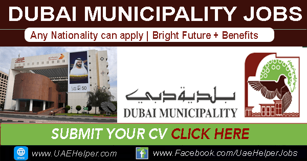 Dubai Municipality Jobs - Government Jobs
