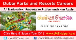 Dubai Parks and Resorts Careers New Job Vacancies: