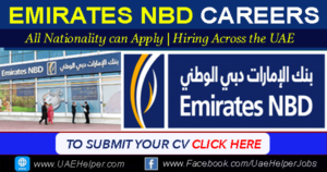 Emirates NBD Careers UAE - Latest Job Careers for Banking Staff