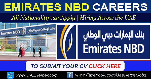 Emirates NBD Careers UAE - Latest Job Careers for Banking Staff
