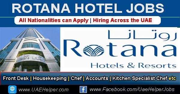 Rotana Careers Jobs Vacancies