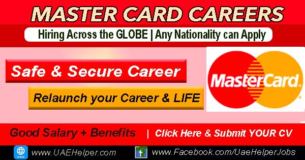 Mastercard Dubai Careers