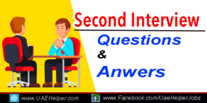 Second Interview Questions & Answers