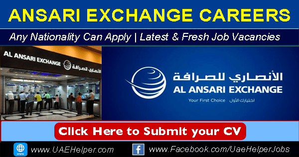 Ansari Exchange careers