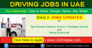 driver jobs in Dubai - driving jobs in DUBAI