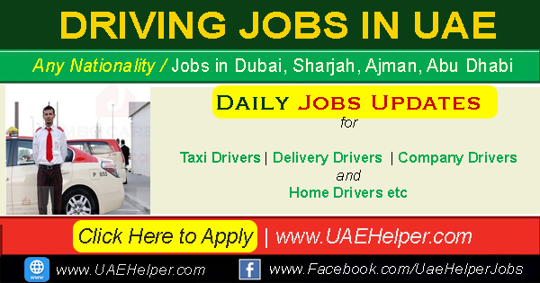 driving jobs in DUBAI