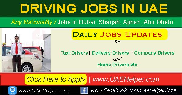 Driver Jobs In Dubai New Driving Jobs In Dubai Uaehelper Com