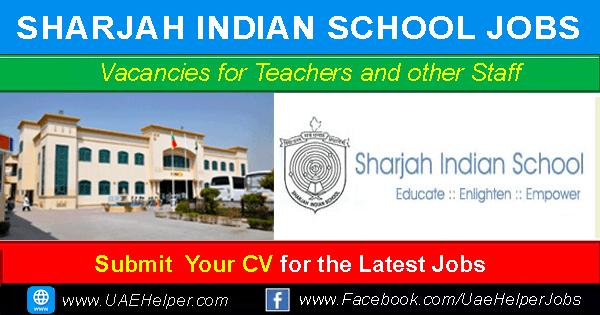 Sharjah Indian School Careers