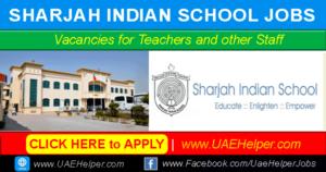 Sharjah indian school vacancies