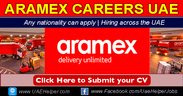 Aramex Careers in Dubai & UAE New Job Openings