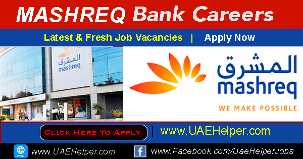 mashreeq bank careers