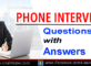 Phone Interview Questions and Answers - UAEHelper.com Blog Article