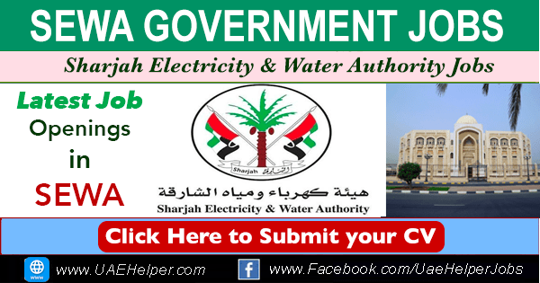 SEWA Careers (Sharjah Electricity & Water Authority) Jobs 2020