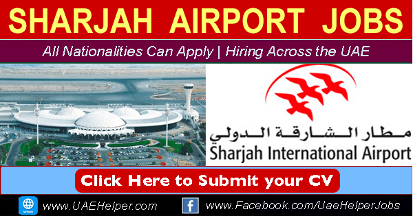 Sharjah Airport Jobs (New Job Openings)