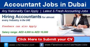 Accounting/ Accountant Jobs in Dubai