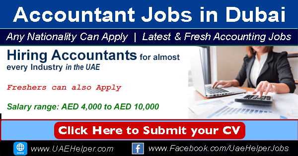 Accounting/ Accountant Jobs in Dubai