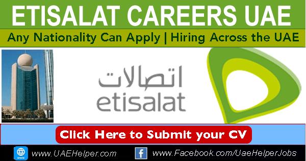 Etisalat Careers in UAE 2020
