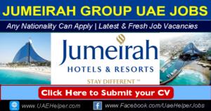 Jumeirah Group Careers in Dubai 2020 Jobs