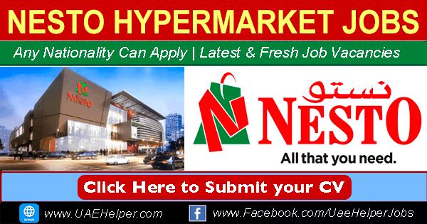 Nesto Careers Jobs in Nesto UAE