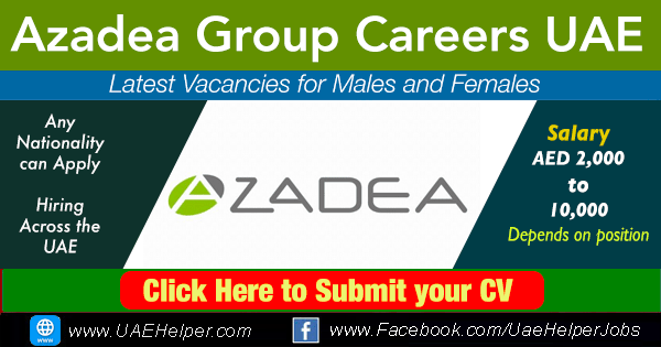 azadea group careeers - latest vacancies