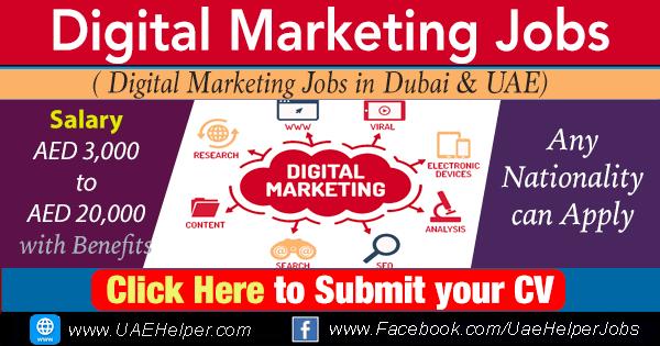 digital marketing jobs in Dubai UAE