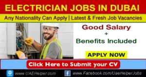 Electrician Jobs in Dubai