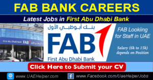 FAB Bank Careers (First Abu Dhabi Bank Job Openings) in 2020