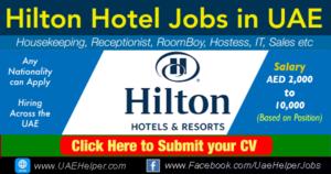 Hilton Careers Dubai & Abu Dhabi - Latest Jobs in 2020