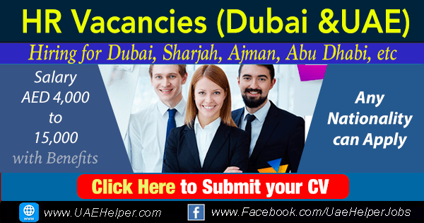 HR Jobs in Dubai