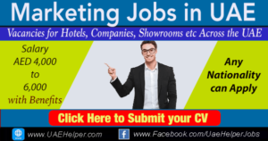 marketing jobs in uae