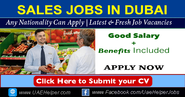 Sales Jobs in Dubai