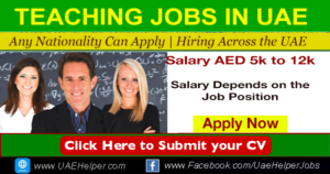Teaching Jobs in Dubai - UAEHelper.com