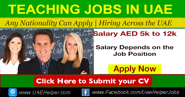 Teaching Jobs in Dubai - UAEHelper.com